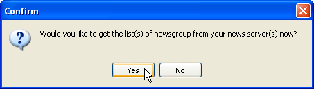 Confirm: Get list of newsgroups?