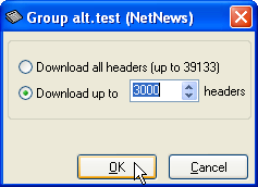 Downloading headers